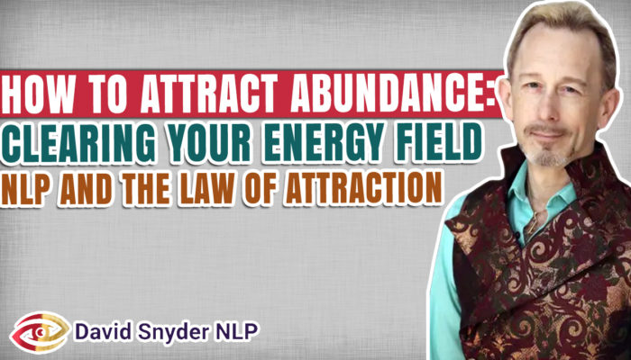 FREE NLP LECTURE: Law of Attraction – Vibrational Alchemy